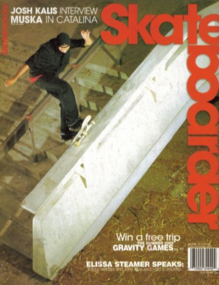 covers - Skateboarder, January/February 2000