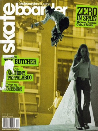covers - Skateboarder, December 2002