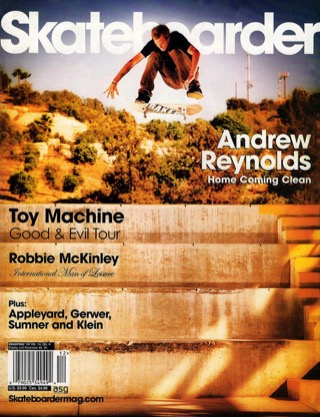 covers - Skateboarder, December 2004