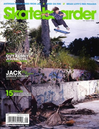 covers - Skateboarder, August 2008