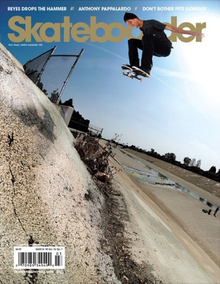 covers - Skateboarder, March 2009