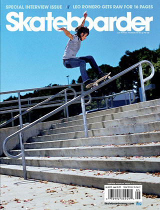 covers - Skateboarder, May 2009