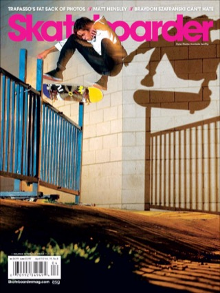 covers - Skateboarder, April 2010