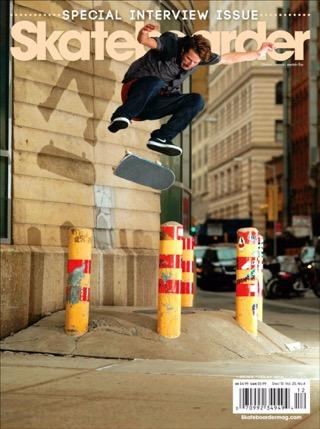 Skateboarder, December 2010