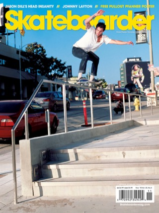 covers - Skateboarder, November 2010