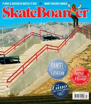 covers - Skateboarder, June/July 2012