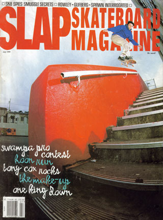 covers - Slap, July 1999