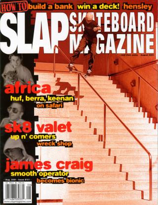 covers - Slap, August 2001