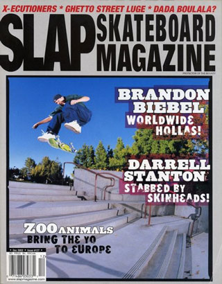 covers - Slap, December 2002