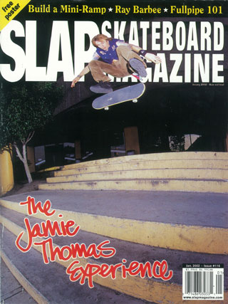 covers - Slap, January 2002