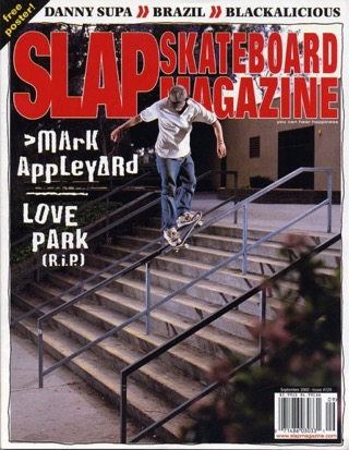 covers - Slap, September 2002