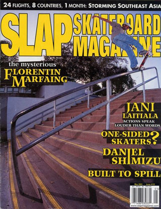 covers - Slap, May 2003