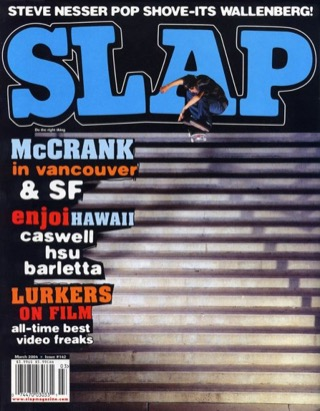 covers - Slap, March 2004