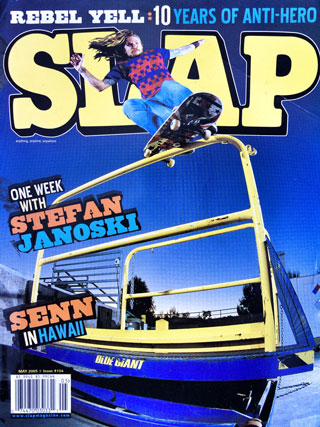 covers - Slap, May 2005