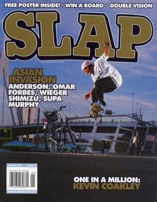 covers - Slap, January 2006