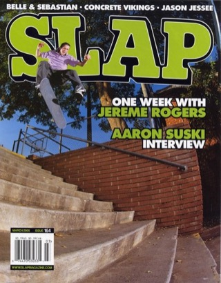 covers - Slap, March 2006