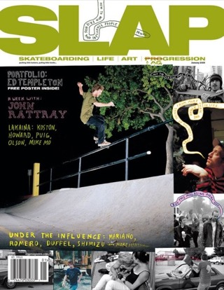 covers - Slap, January 2008