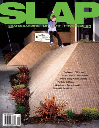 covers - Slap, November 2008