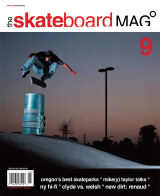 covers - The Skateboard Mag, December 2004