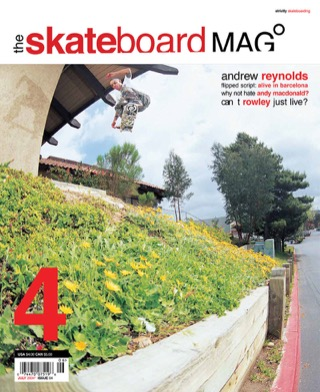 covers - The Skateboard Mag, July 2004