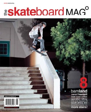 covers - The Skateboard Mag, November 2004