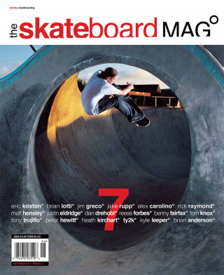 covers - The Skateboard Mag, October 2004