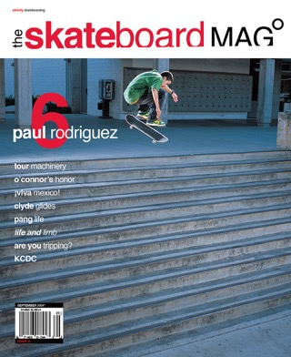 covers - The Skateboard Mag, September 2004