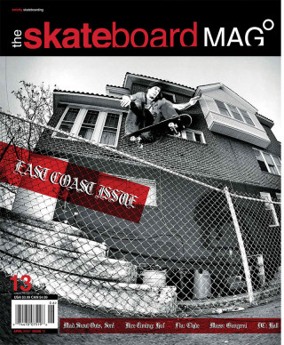 covers - The Skateboard Mag, April 2005