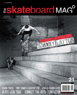 covers - The Skateboard Mag, December 2005