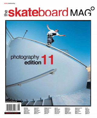 covers - The Skateboard Mag, February 2005