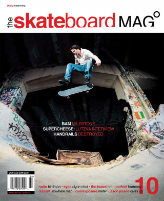 covers - The Skateboard Mag, January 2005