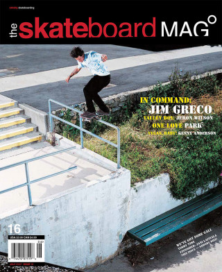 covers - The Skateboard Mag, July 2005
