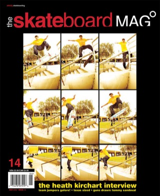 covers - The Skateboard Mag, May 2005
