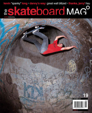 covers - The Skateboard Mag, October 2005