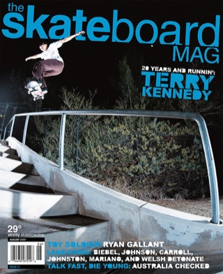 covers - The Skateboard Mag, August 2006
