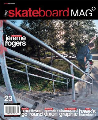 covers - The Skateboard Mag, February 2006