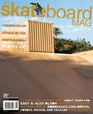 covers - The Skateboard Mag, July 2006