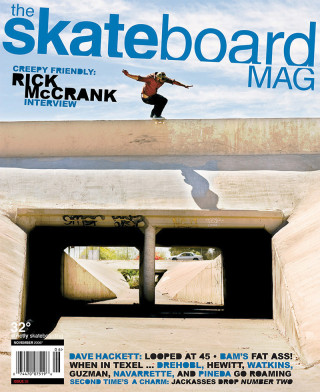 covers - The Skateboard Mag, November 2006