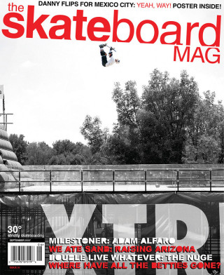covers - The Skateboard Mag, September 2006