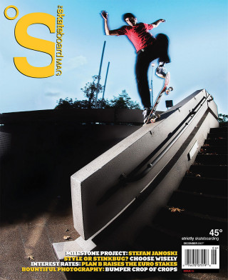 covers - The Skateboard Mag, December 2007