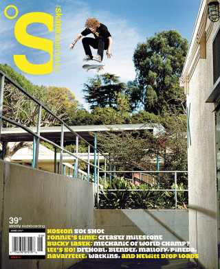covers - The Skateboard Mag, June 2007