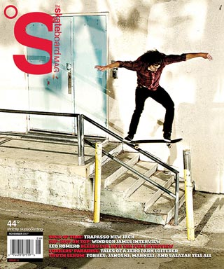 covers - The Skateboard Mag, November 2007