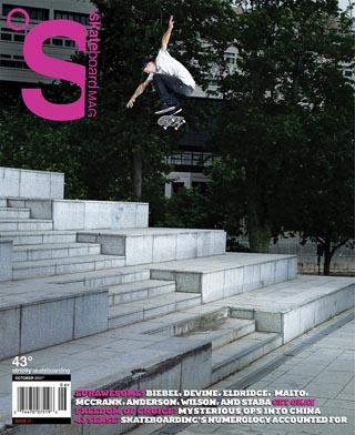 covers - The Skateboard Mag, October 2007