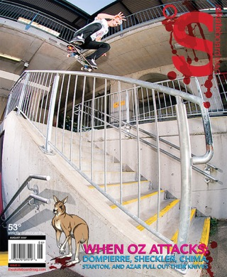 covers - The Skateboard Mag, August 2008