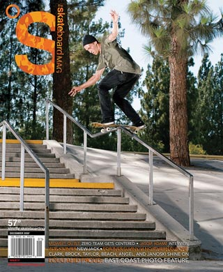 covers - The Skateboard Mag, December 2008