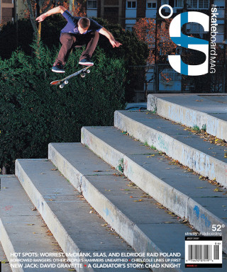 covers - The Skateboard Mag, July 2008