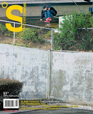 covers - The Skateboard Mag, June 2008