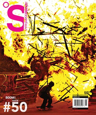 covers - The Skateboard Mag, May 2008