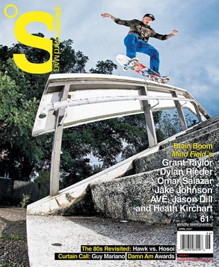 covers - The Skateboard Mag, April 2009