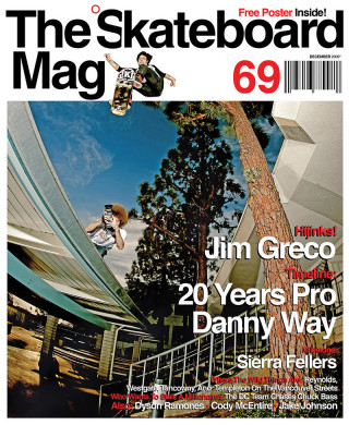 covers - The Skateboard Mag, December 2009